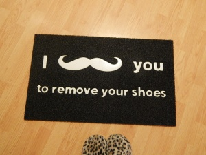 World's Best Doormat.